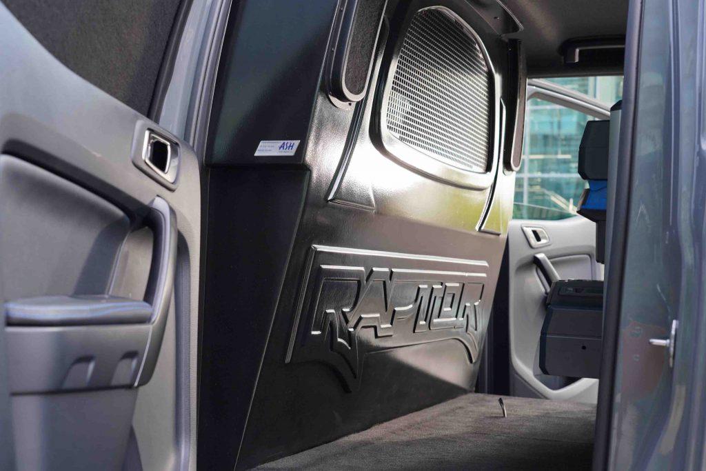 grijs kenteken ASH carrosserie interieur